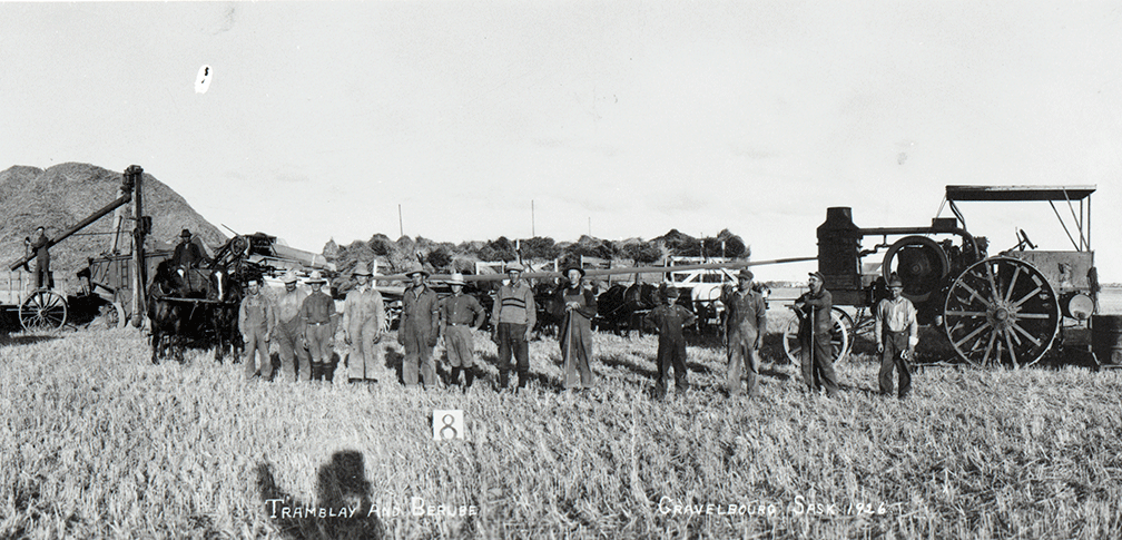 Tremblay family farm in 1926